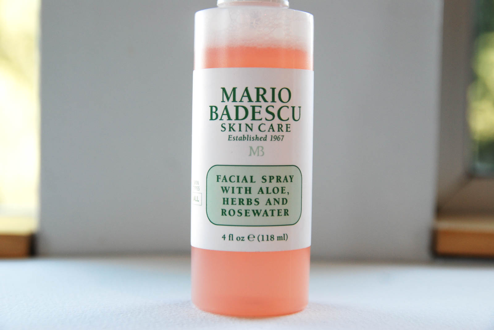 In Review Mario Badescu Facial Spray With Aloe Herbs And